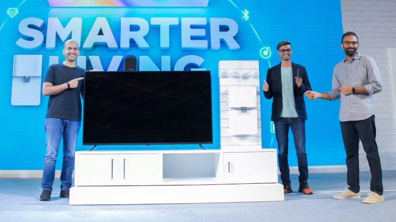 Xiaomi Smart Living 2020 Event: Mi Band 4, New Mi TV 4X Series, Mi Soundbar & Mi Smart Water Purifier Launched in India; Know Prices & Sale Date