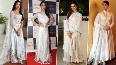 Navratri 2019 Day 2 Colour White: Deepika Padukone, Hina Khan and Others are Here to Help you Teach How to Slay in this Colour (View Pics)
