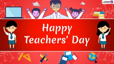 happy teachers day greetings latest news information updated on