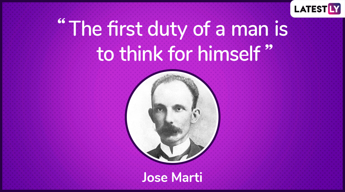 The quote by Jose Marti on democracy. (Photo Credit: File Image)