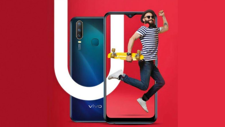 Vivo U10 Smartphone With FullView HD+ Display & 5000 mAh Battery Launched in India at Rs 8990; Sale Date, Features, Specifications & More