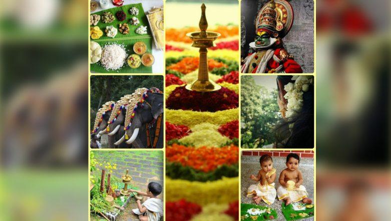 Onam 2019: 'Onashamsakal' Wishes Have Twitter Abuzz with Beautiful Greetings, Quotes, GIFs, Rangoli and Flower Pics