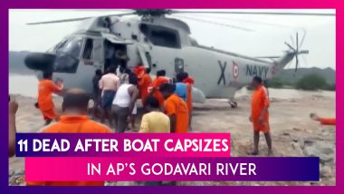 Andhra Pradesh: 11 Dead After Boat Capsizes In Godavari River, Rescue Operation Underway