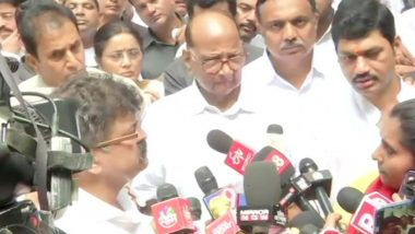 Sharad Pawar Not to Visit ED Office Today, Cites Law and Order Concerns