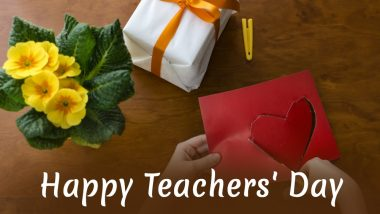 Teachers' Day 2019 Gifts: Express Gratitude to Your Guru
