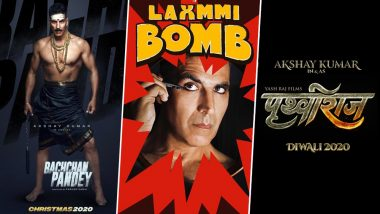 Akshay Kumar's Six Upcoming Releases: Prithviraj, Bachchan Pandey, Laxmmi Bomb - Vote for the Film You Are Most Excited For!