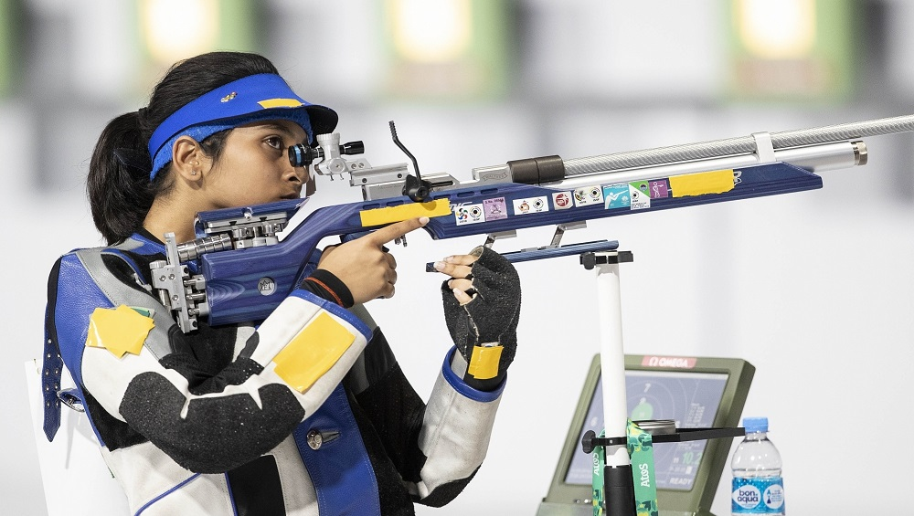 South Asian Games 2019: Mehuli Ghosh Shoots 10m Air Rifle Gold in SAG as India Sweeps All Medals