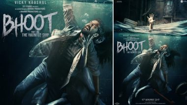 Bhoot-Part One: The Haunted Ship: Vicky Kaushal's Spooky New Poster is a Perfect Treat for Friday the 13th - View Pic