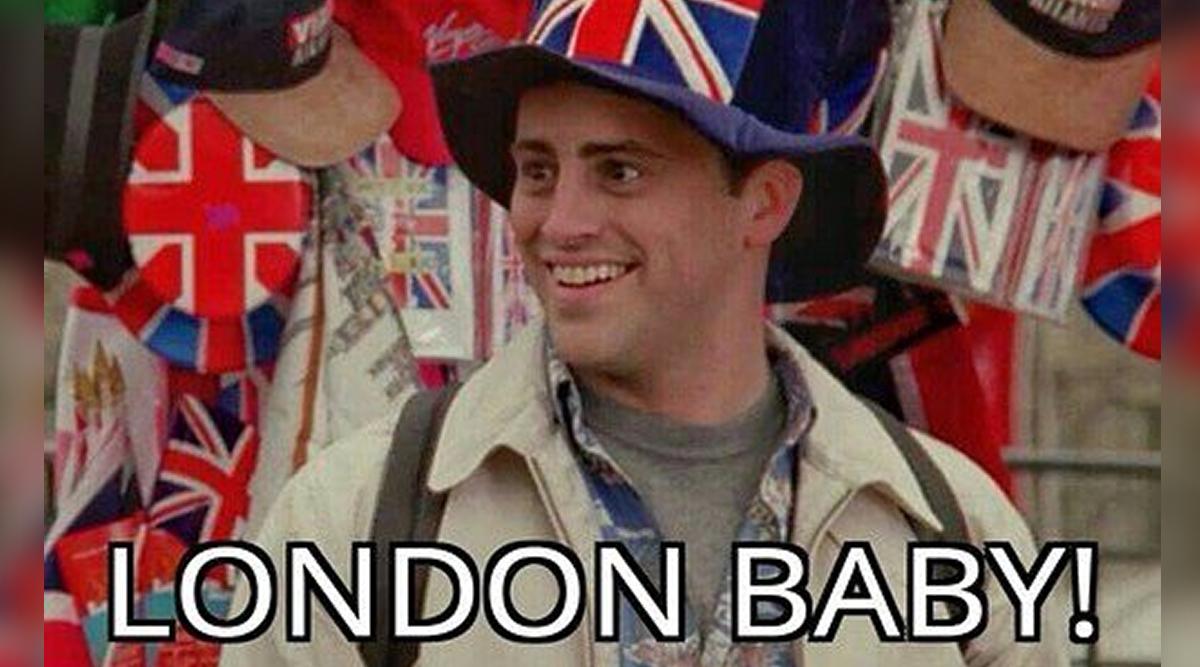 Joey in London.