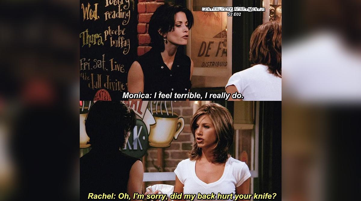 Rachel's back-stabbing quote.
