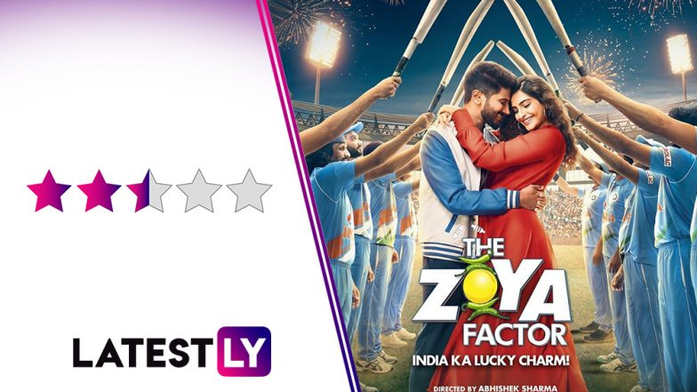The Zoya Factor Movie Review: Dulquer Salmaan Is the Lucky Charm in This Sporadically Enjoyable Romcom With Sonam Kapoor