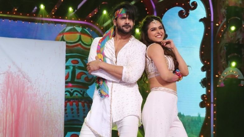 Nach Baliye 9 Eliminated Contestant Madhurima Tuli on Slapping Vishal Aditya Singh: I Couldn't Take His Frequent Aggression, It Was High Time I Countered It