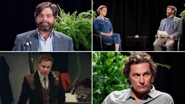Between Two Ferns: The Movie Trailer: Zach Galifianakis Almost Kills Matthew McConaughey, Asks Brie Larson About Her First Period on His Famous Talk Show (Watch Video)