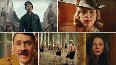 Jojo Rabbit Trailer: Taika Waititi's Hitler Frolicks Around, Roman Griffin Davis' Young Nazi Questions His Blind Nationalism (Watch Video)