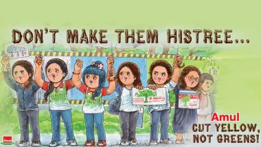 Amul Addresses Aarey Forest Cause Through Latest Topical, Netizens Applaud
