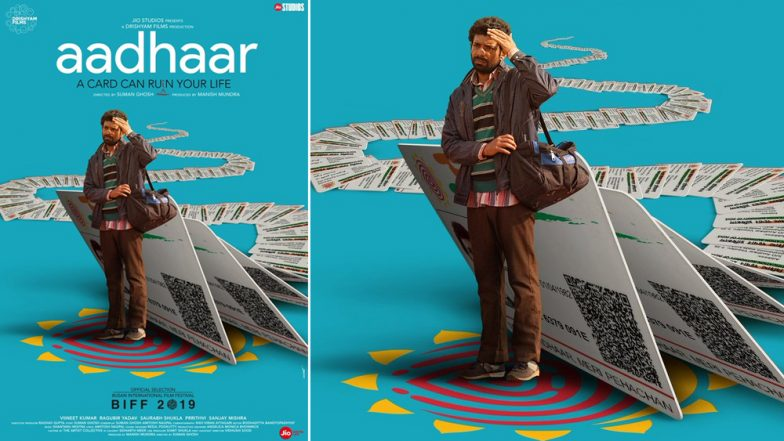 Aadhaar First Poster: Viineet Kumar Singh Plays a Villager Trying to Get His Aadhaar Card (See Pic)