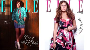 Sara Ali Khan Looks all Chic and Glamorous as the Cover Girl of Elle India's September Issue - View Pics