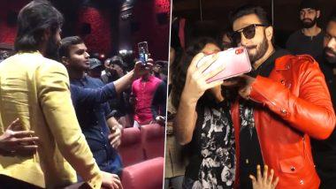 Vijay Deverakonda Does a Ranveer Singh! Arjun Reddy Star Meets and Greets Audiences Personally From Dear Comrade Screening (Watch Video)