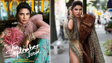Priyanka Chopra is all Spunky and Modish on the Cover of Vogue India's New Issue - View Pics