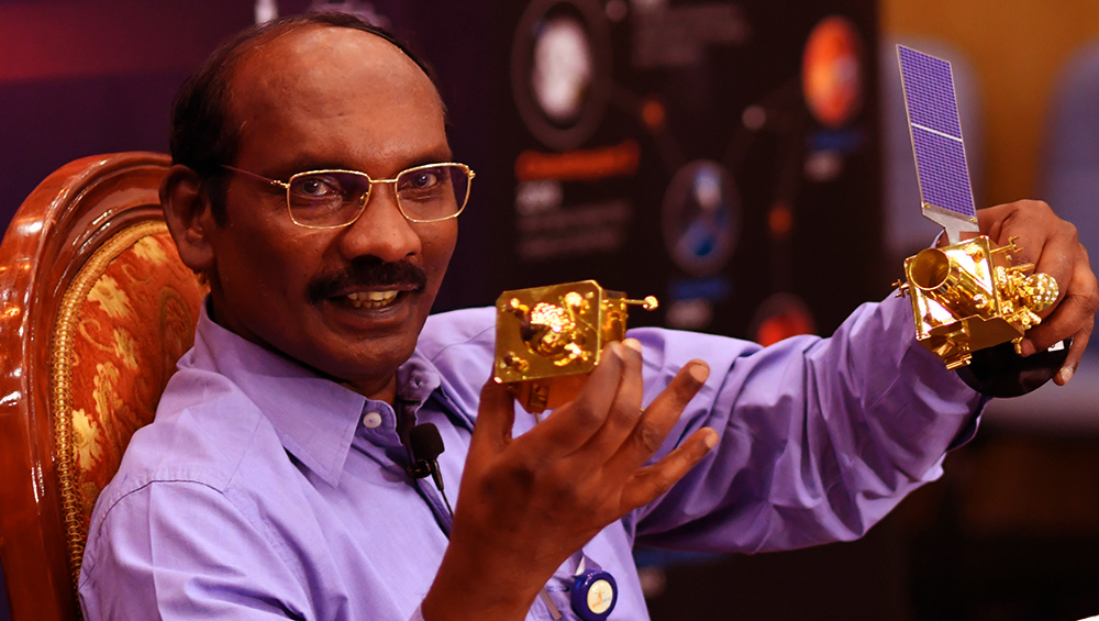 Chandrayaan-2 Orbiter Doing Well but No Signal From Vikram Lander, Says ISRO Chief K Sivan