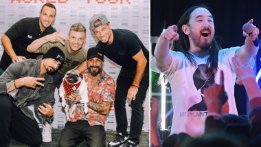 Backstreet Boys and Steve Aoki Team Up for a Feel-Good Song 'Let It Be Me'