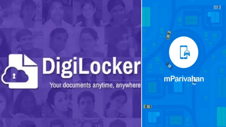 Motor Vehicle (Amendment) Act 2019: How to Save Driving Licence And Other Essential Documents on Digilocker And mParivahan App To Avoid Paying Hefty Fines