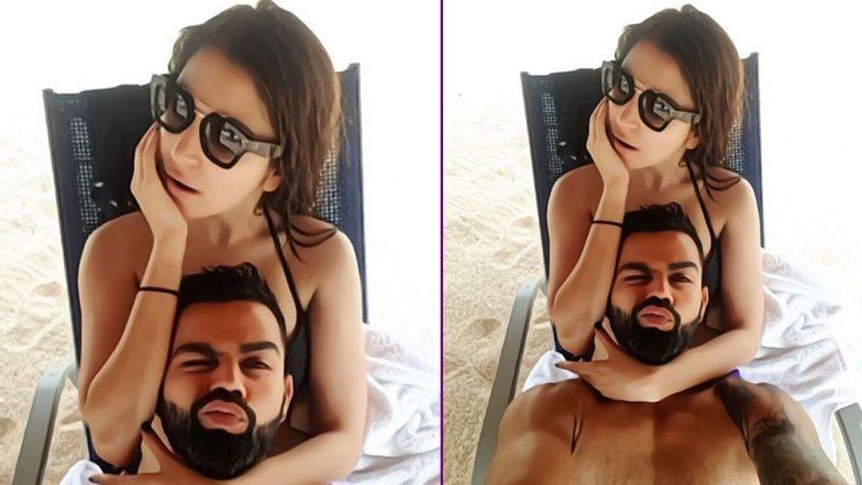 Virat Kohli And Anushka Sharma Soar Temperatures At An Undisclosed Beach And We Can't Keep Calm!