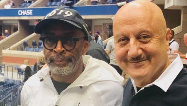Anupam Kher Talks Cinema, Tennis and More with BlackKklansman Director Spike Lee at US Open 2019 Semi-Final
