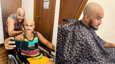 Nach Baliye 9: Former Contestant Faisal Khan Goes Bald to Make a Bold Statement After His Surgery (View Pics)