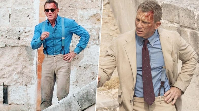 Bond 25 Daniel Craig Spotted in Bloodied Bruised Look As He Begins Shooting for the Italy Schedule