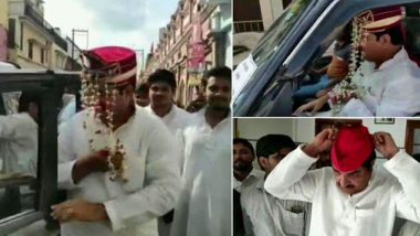 Samajwadi Party Leader Firoz Khan Fools UP Police by Wearing 'Sehra' to Reach Rampur For Expressing Solidarity With Azam Khan