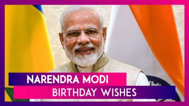 Happy Birthday, PM Narendra Modi: Wish The Prime Minister With These Social Media Messages