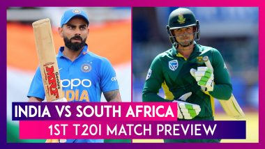 India vs South Africa, 1st T20I 2019 Preview: IND Aim for Maiden T20I Series Win against SA at Home