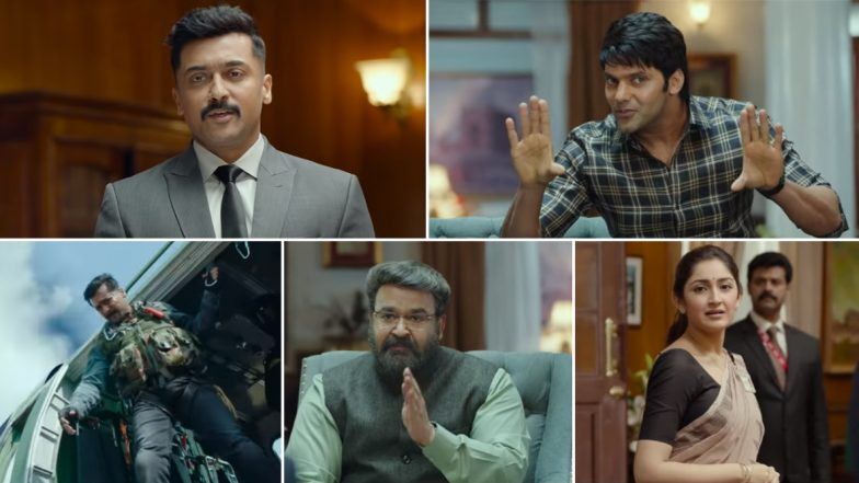 Kaappaan New Trailer: Suriya is Ready to Boggle your Minds with this Action Extravaganza (Watch Video)