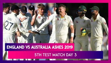 Ashes 2019 5th Test, Day 3 Stat Highlights: Joe Denly & Ben Stokes Put England in Driver's Seat
