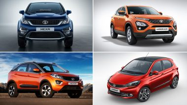 Discounts on Tata Cars During 2019 Festive Season: Benefits Up To Rs 1.5 Lakh on Harrier, Nexon, Hexa, Tiago & Tigor
