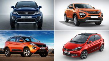 Discounts on Tata Cars During 2019 Festive Season: Benefits Up To Rs 1.5 Lakh on Harrier, Nexon, Hexa, Tiago & Tigor