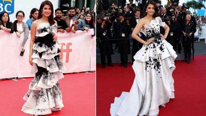Priyanka Chopra's Tiff 2019 Gown Reminded us of Aishwarya Rai Bachchan's Cannes Outing - View Pics