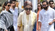 Trouble for Saif Ali Khan, Sonali Bendre, Tabu Continues in Blackbuck Poaching Case as Rajasthan HC Admits Government's Plea Against Acquittal