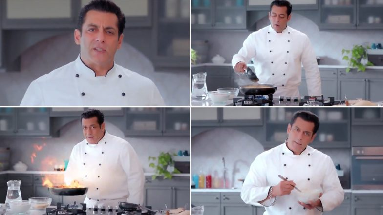 Bigg Boss 13: Salman Khan Adds Tadka to the New Promo as Chef; Reveals Time Slot and Premiere Date of the Show (Watch Video)