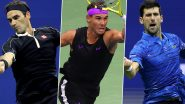 Novak Djokovic vs Roger Federer vs Rafael Nadal: Check Number of Grand Slam Titles Won by Tennis' 'Big Three'