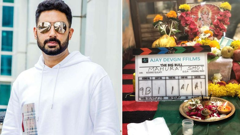 Ajay Devgn Turns Producer for Abhishek Bachchan's Next with Kookie Gulati as Director, Shoot Begins! (View Pic)