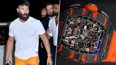 Dan Bilzerian Could Buy a 1BHK in Mumbai By Selling The Watch He Wore on His India Visit… We Can't Even!
