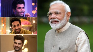 Narendra Modi 69th Birthday: Ayushmann Khurrana, Arjun Kapoor and Other B-Town Celebs Send Warm Wishes for the Indian Prime Minister