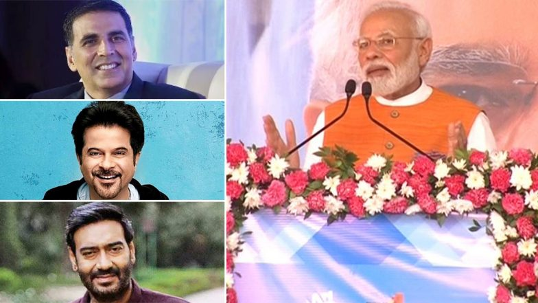 Narendra Modi 69th Birthday: Akshay Kumar, Anil Kapoor, Ajay Devgn and Other Bollywood Celebs Pen Heartfelt Wishes for the Indian PM