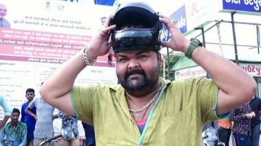 Gujarat Man Escapes Traffic Penalty Under New Motor Vehicles Act Because His Head is Too Big to Fit in Helmet