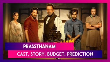 Prassthanam: Cast, Story, Budget, Prediction & Review Of Sanjay Dutt And Manisha Koirala Starrer