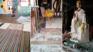 Chhattisgarh: 'Shame Shame Imran Khan' Slogans Raised During Protest Against Vandalisation of Hindu Temples in Pakistan