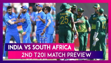 India vs South Africa, 2nd T20I 2019 Preview: Both Sides Aim to Take Unassailable Lead in Mohali