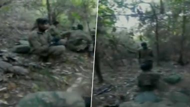 Pakistan SSG Commandos Spotted Near Poonch River Along LoC, Indian Army Recovers Camera From Spot; Watch Video